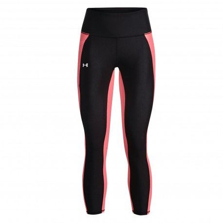 Leggings Under Armour Fitness HeatGear Panel Ankle Negro Mujer