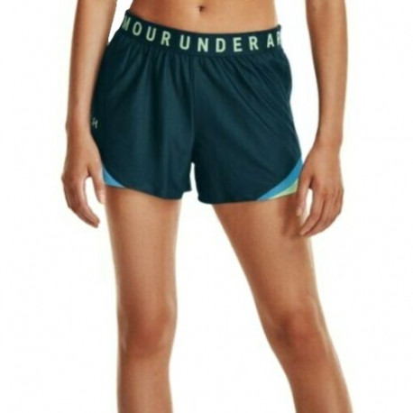 Short Under Armour Fitness Play Up 3.0 Azul Mujer