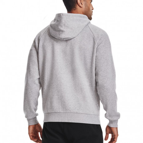 Sudadera Under Armour Fitness Rival Flacee FZ Gris Hombre