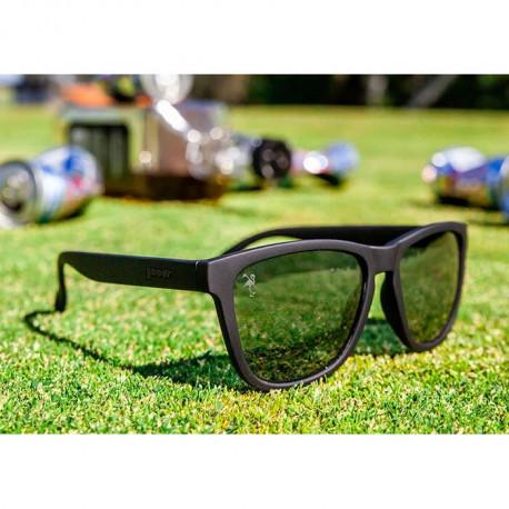 Lentes Goodr Golf Back 9 Blackout Negro