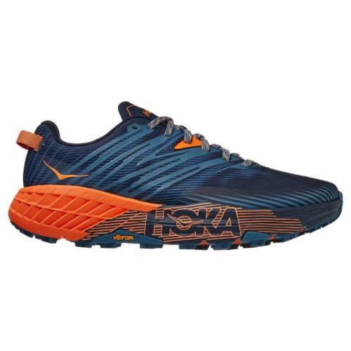 Tenis Hoka One One Trail Running Speedgoat 4 Azul Hombre
