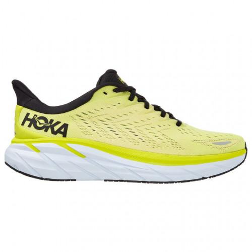Tenis Hoka One One Running Clifton 8 Amarillo Hombre
