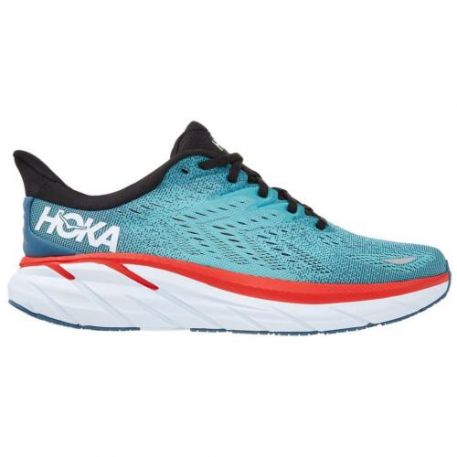 Tenis Hoka One One Running Clifton 8 Azul Hombre