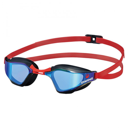 Goggles Swans Natación Valkyrie Azul Rojo