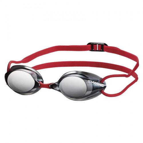 Goggles Swans Natación Suecos Humo Rojo