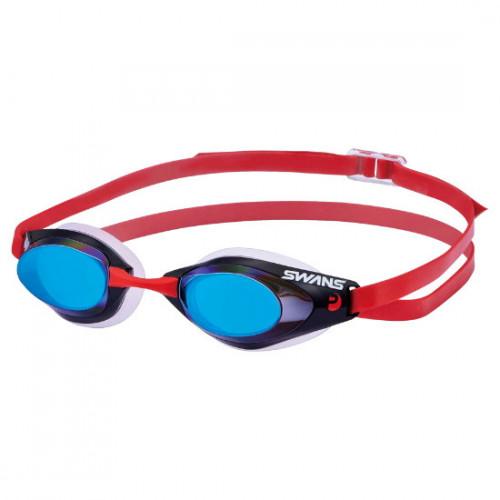 Goggles Swans Natación Falcon Azul Rojo