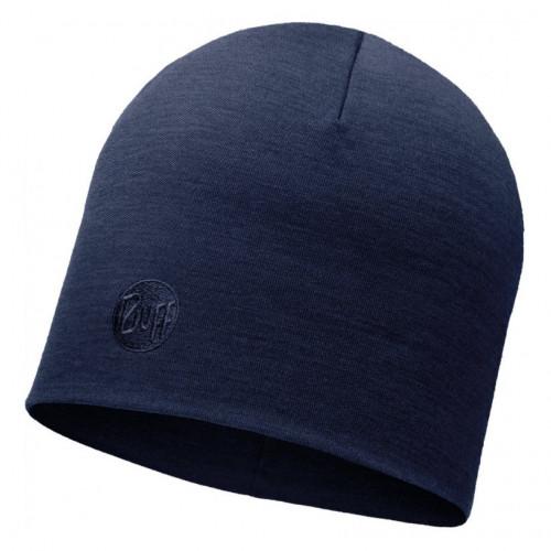 Gorro Buff Outdoor HW Merino Wool Solid Denim Azul