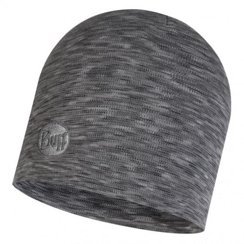 Gorro Buff Outdoor HW Merino Wool Regular Fog Multi Stripes Gris