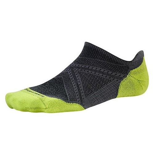 Run Light Elite Micro Socks Up / Black/Green