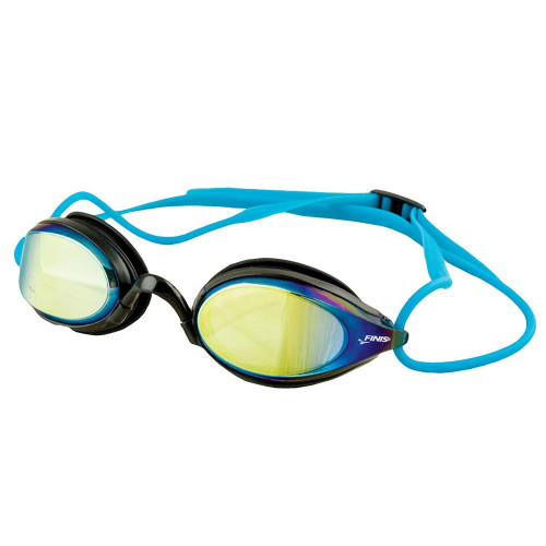 Circuit goggles gold mirror
