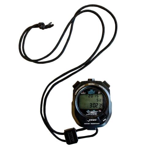Natación Finis 3X100 stopwatch Negro