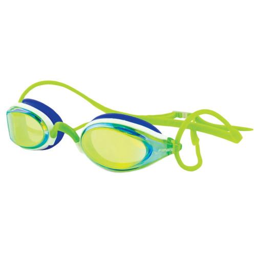 Circuit goggles green mirror