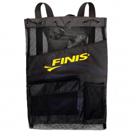 Mochila Natación Finis Ultra mesh gear backpack Negro Unisex