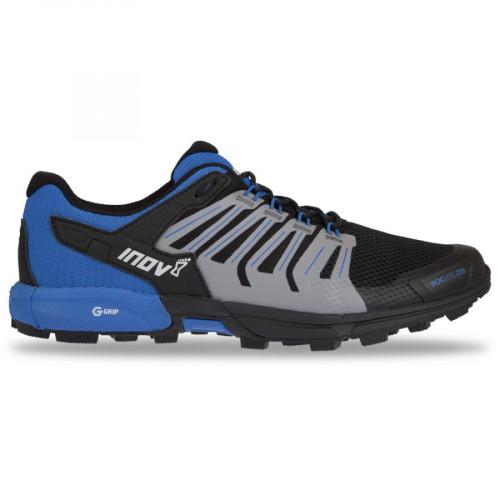 Tenis Trail Running Inov8 Roclite 275 G-Grip Azul Hombre